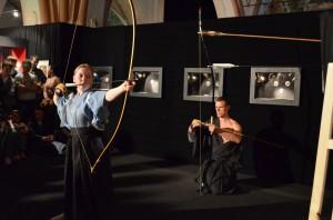 Показательные выступления по Кюдо на выставке в Санкт-Петербурге